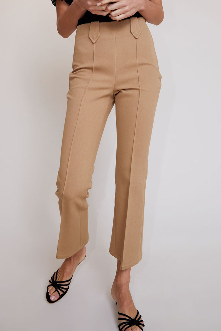 Image of No.6 Casino Pant in Camel