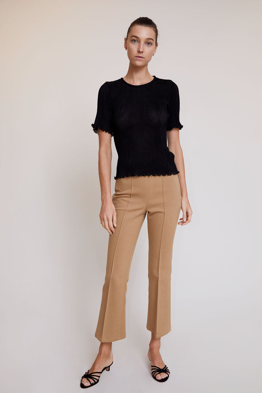 No.6 Casino Pant in Camel
