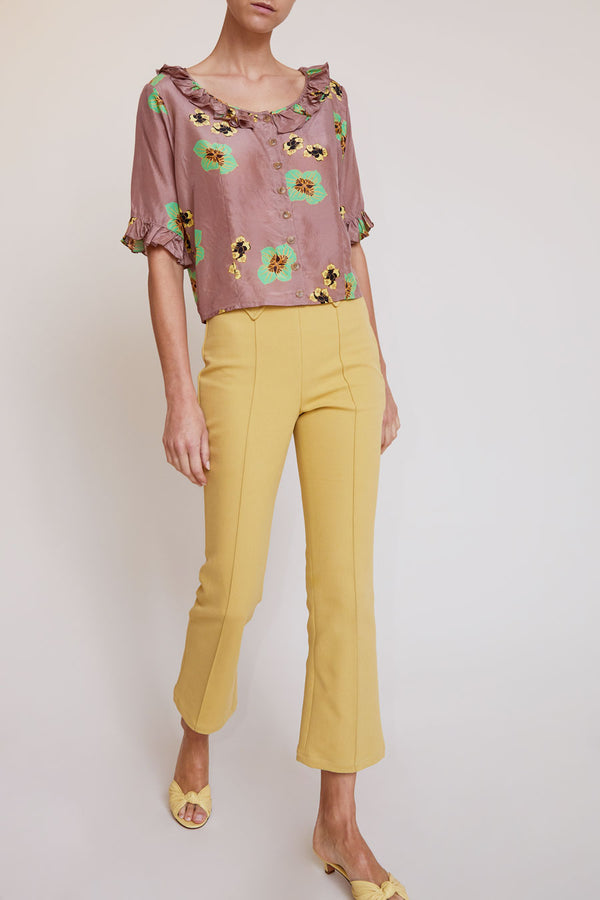 No.6 Casino Pant in Mustard