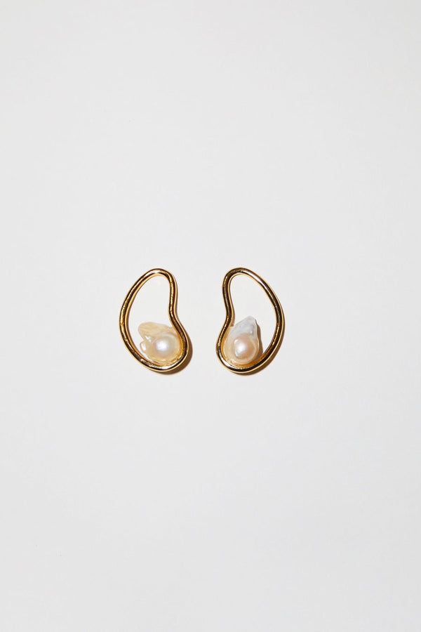 Diana Lecompte Fava Earrings