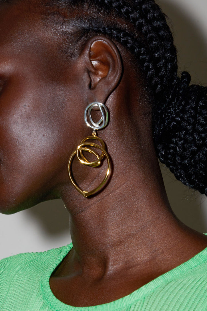 Image of Diana Lecompte Loop Earrings