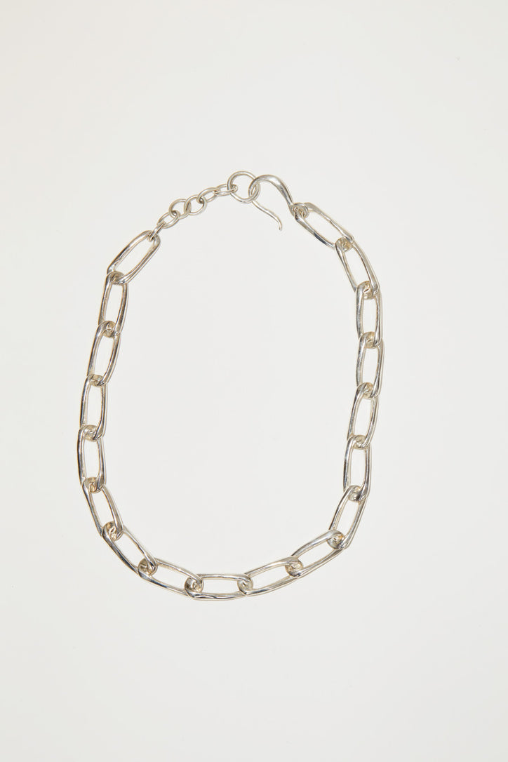 Image of Faris Classic Chain Collar in Sterling Silver