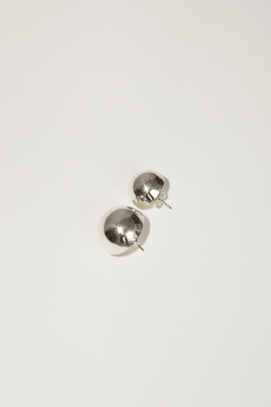Gabriela Artigas Full Asymmetric Aura Earrings in Sterling Silver