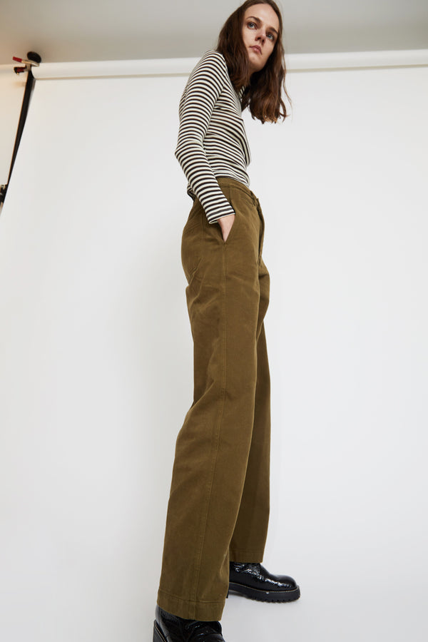 Girls of Dust Reno Chino in Khaki