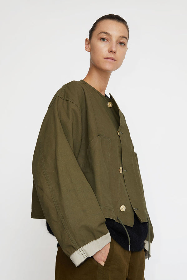 Girls of Dust Nuclear Jacket in Khaki