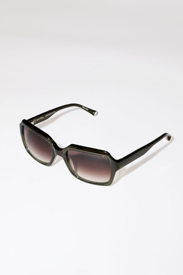 Kate Young for Tura Toni Sunglasses in Khaki
