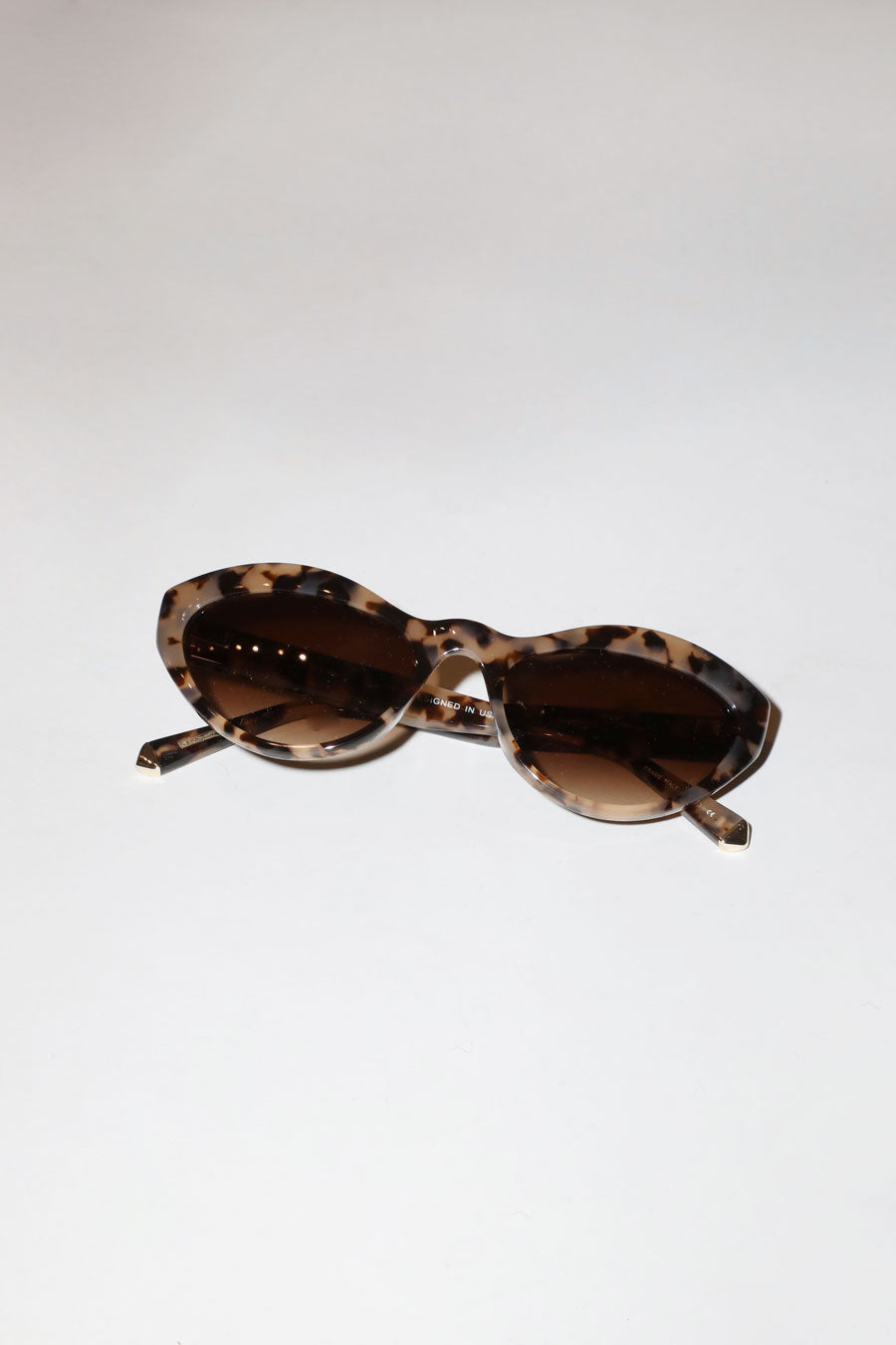 Kate Young for Tura Elene Sunglasses in Tortoise