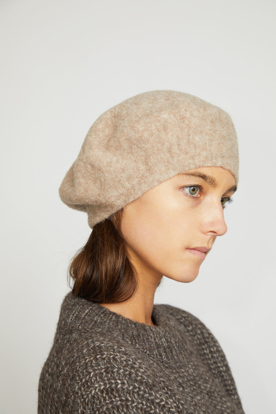 Lauren Manoogian Horizontal Beret in Bale