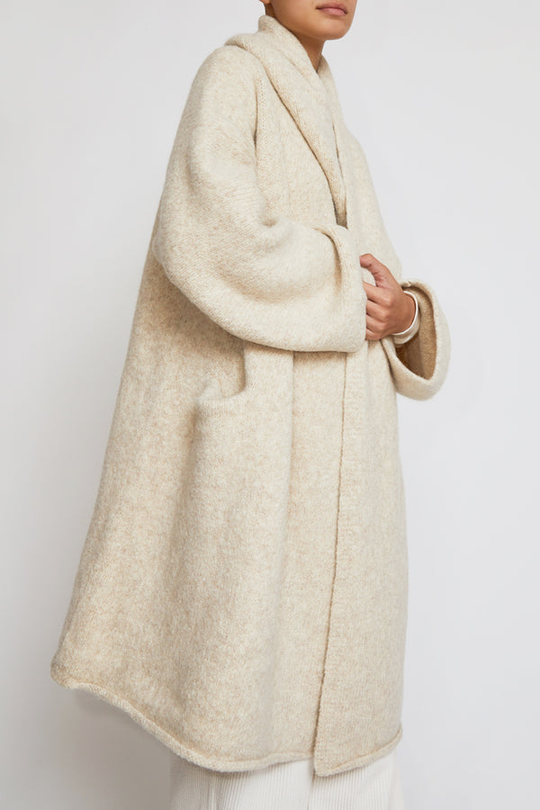 Lauren Manoogian Capote Coat in Hessian