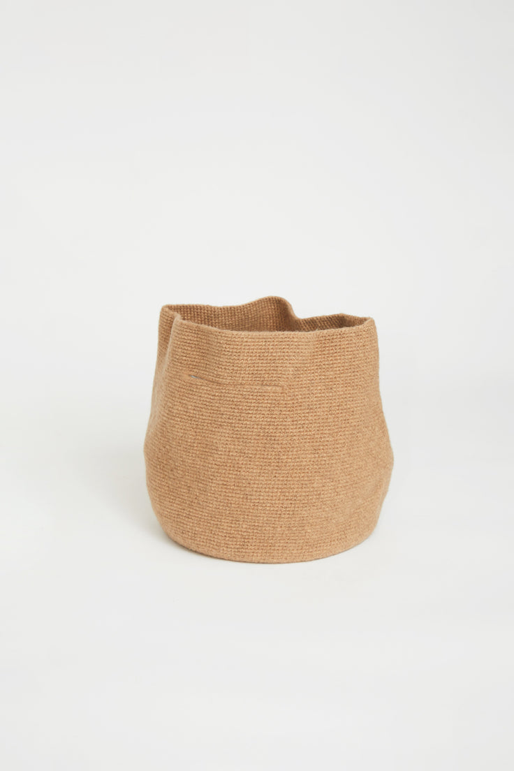 Image of Lauren Manoogian Woolen Bowl Bag in Brindle