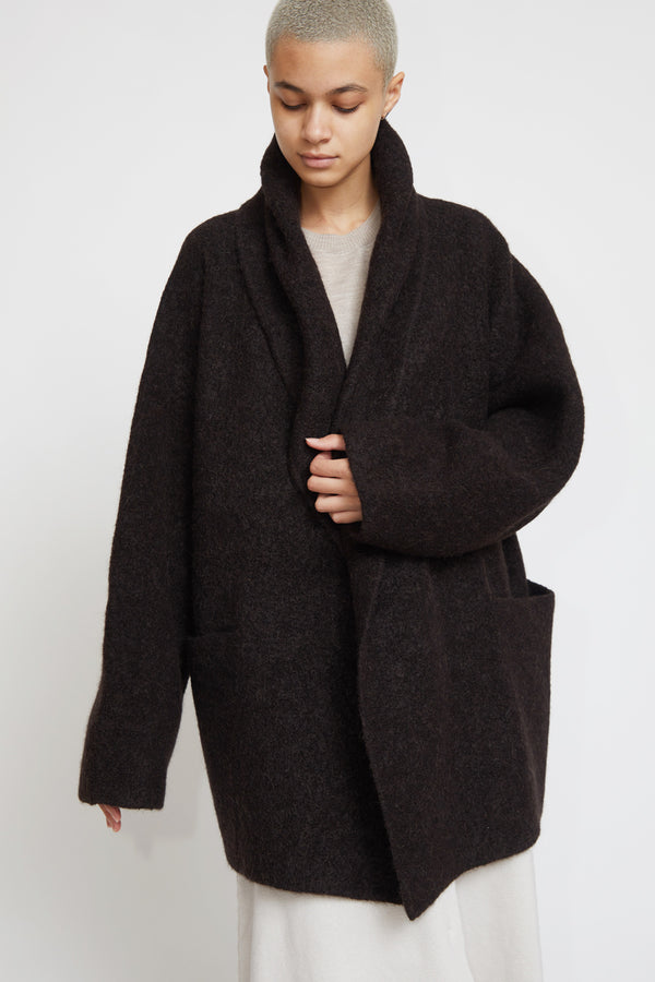 Lauren Manoogian Double Face Coat in Monk