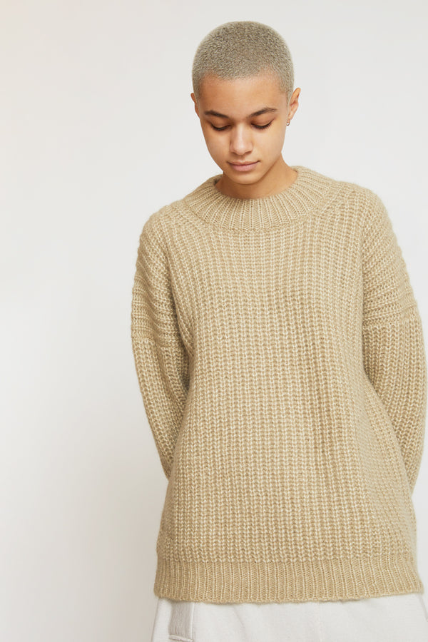 Lauren Manoogian Fisherwoman Pullover in Willow