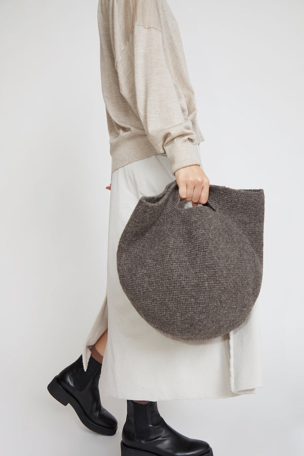 Lauren Manoogian Woolen Bowl Bag in Burl