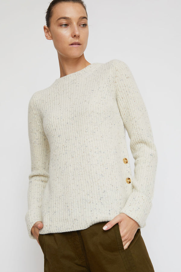 Rue Blanche Legend Ribs Pullover in Polar