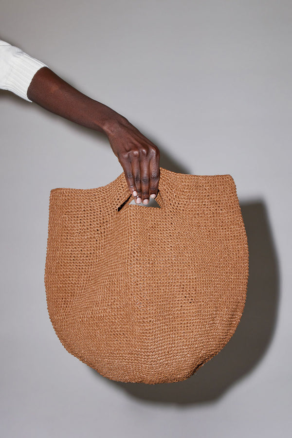 Lauren Manoogian Bowl Bag in Brown