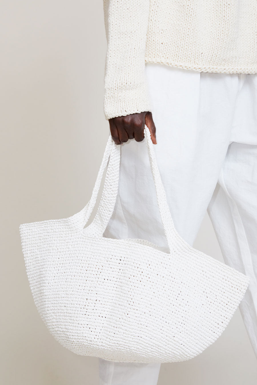 Lauren Manoogian Bowl Tote in White