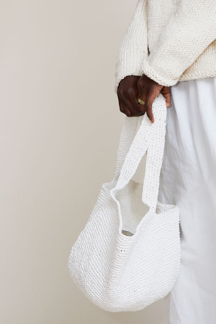 Image of Lauren Manoogian Bowl Tote in White