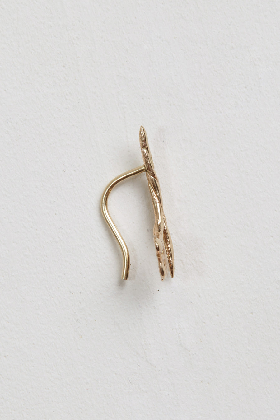 Laurel Patrick Single Twisted Lily Ear Climber