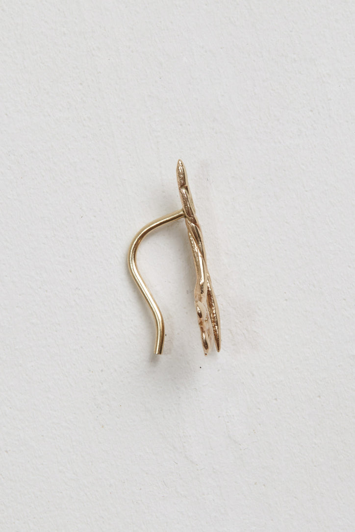 Image of Laurel Patrick Single Twisted Lily Ear Climber