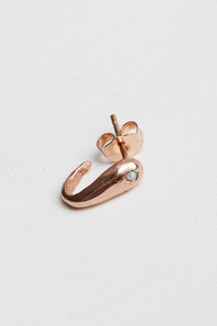 Image of Laurel Patrick Single Tusk Ear Cuff in Rose Gold