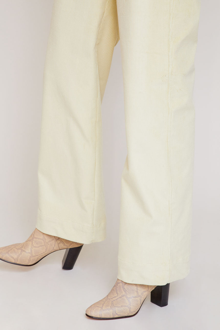 No.6 Mabel Trousers in Champagne Corduroy