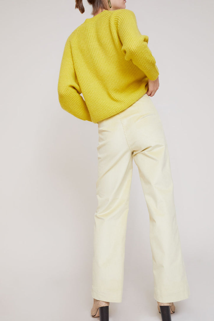 Image of No.6 Mabel Trousers in Champagne Corduroy