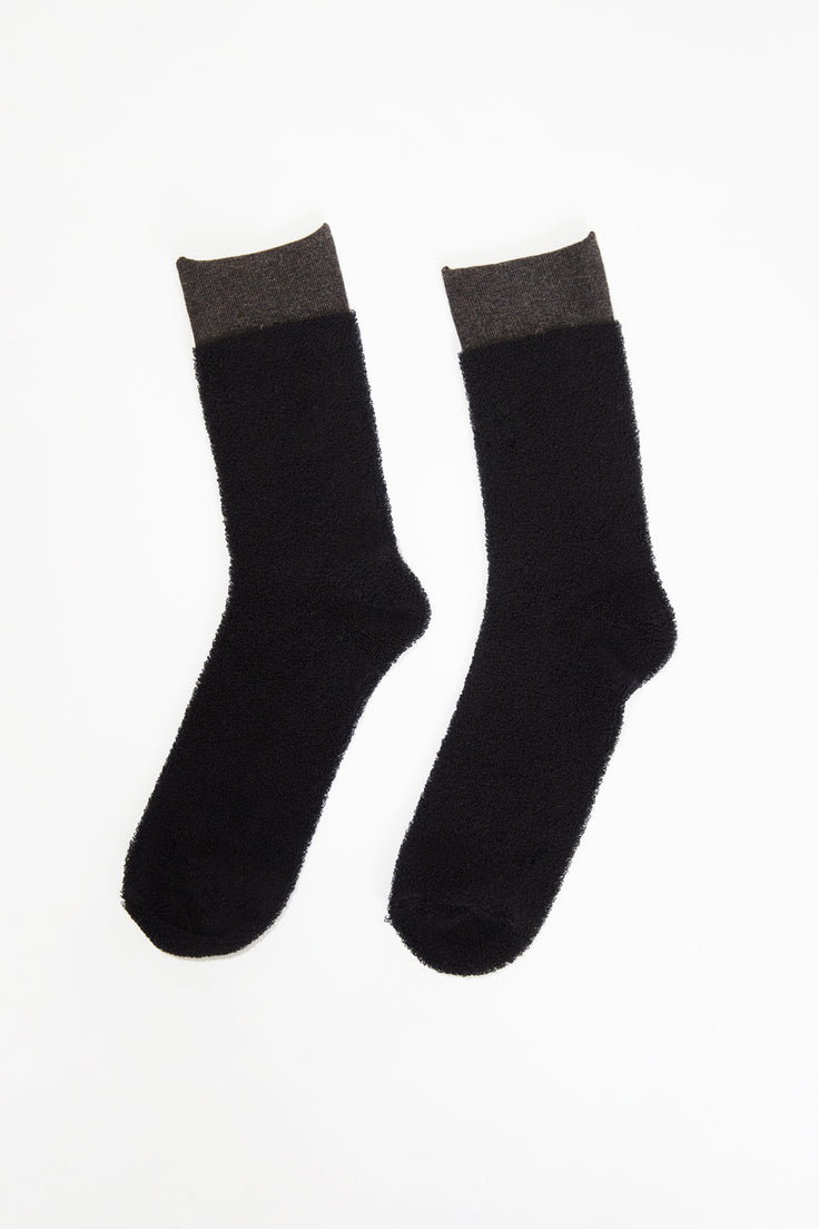 Image of Maria La Rosa Sporty Sock in Black / Brown