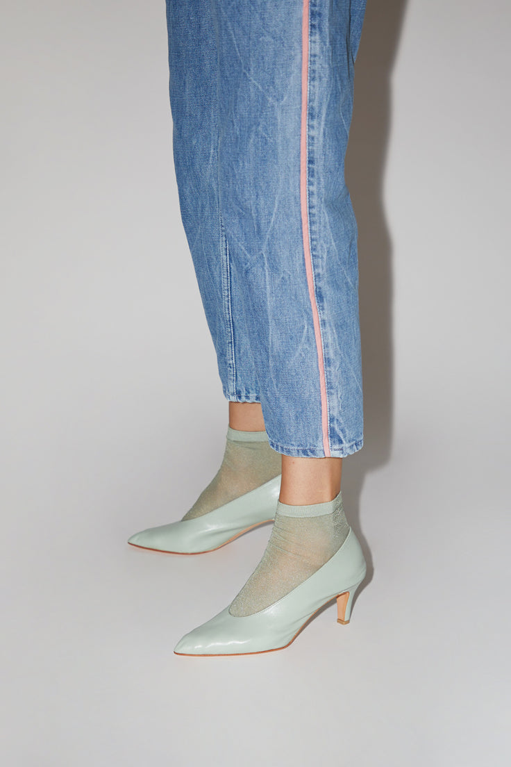 Image of Martiniano Party Heel in Sage