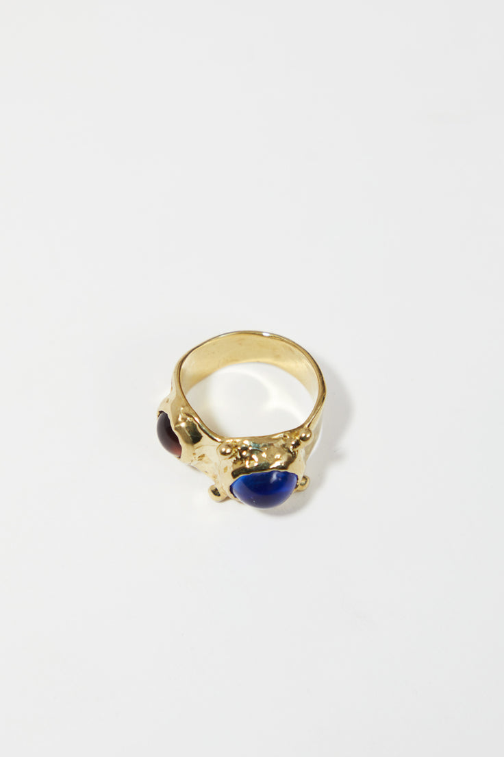 Image of Mondo Mondo Pulp Ring in Blue and Lavender