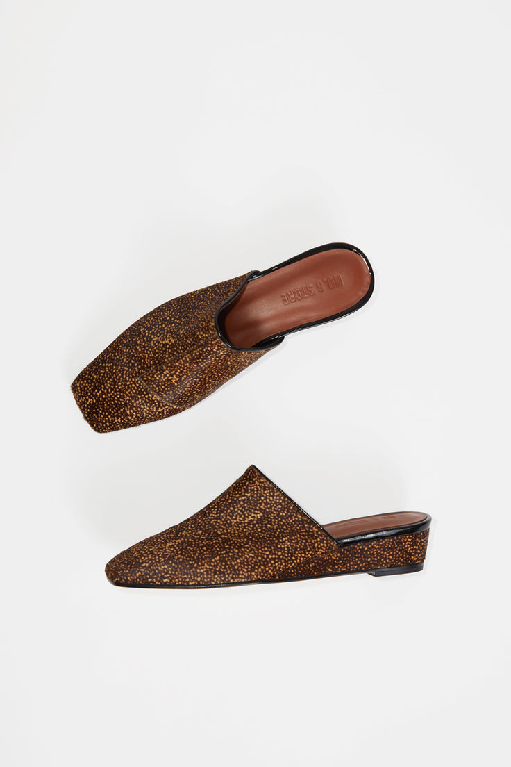 Image of No.6 Neema Slide in Speckled Pony