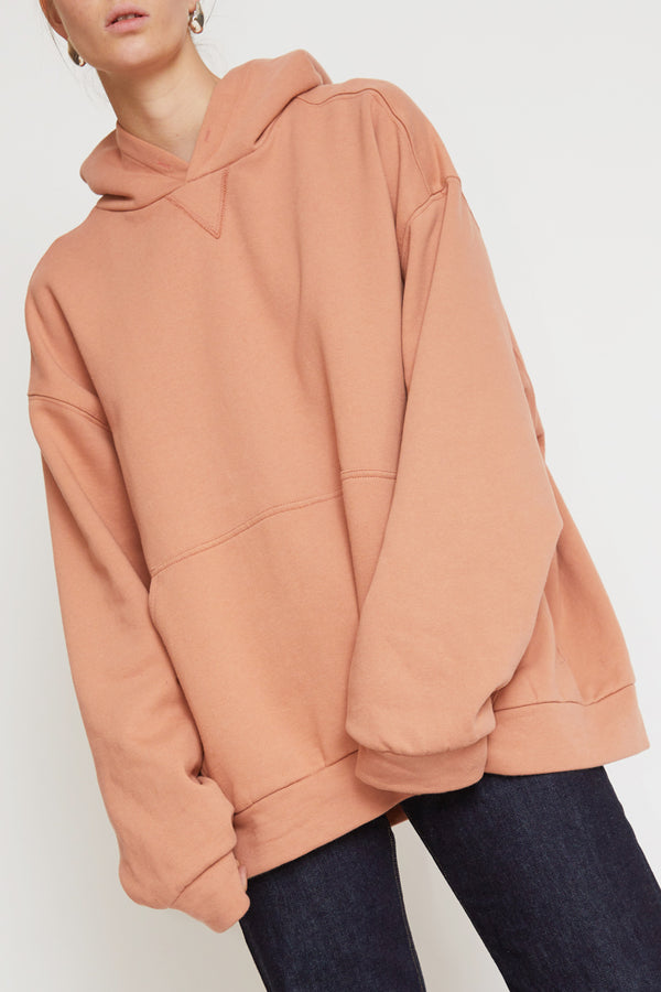 No.6 Anderson Hoodie in Salmon