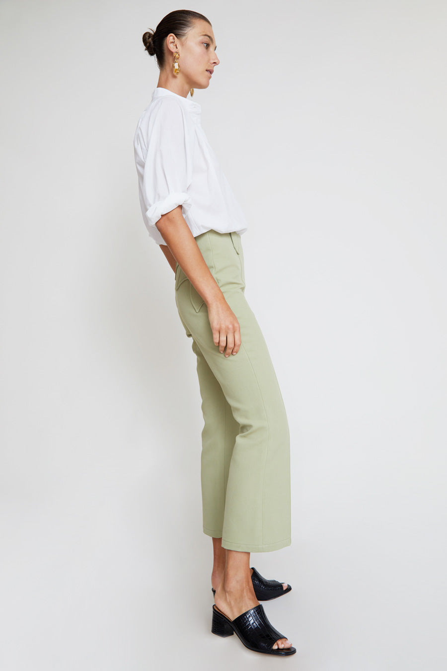 No.6 Casino Pant in Mint