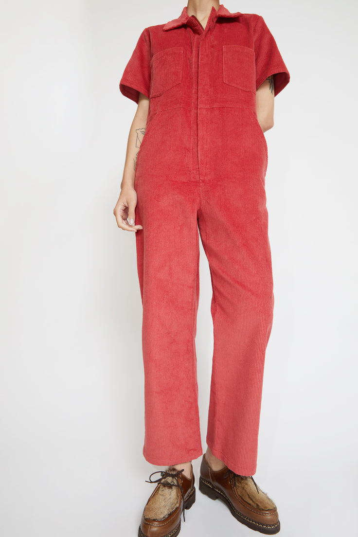 Image of No.6 Freya Coverall in Rose Corduroy