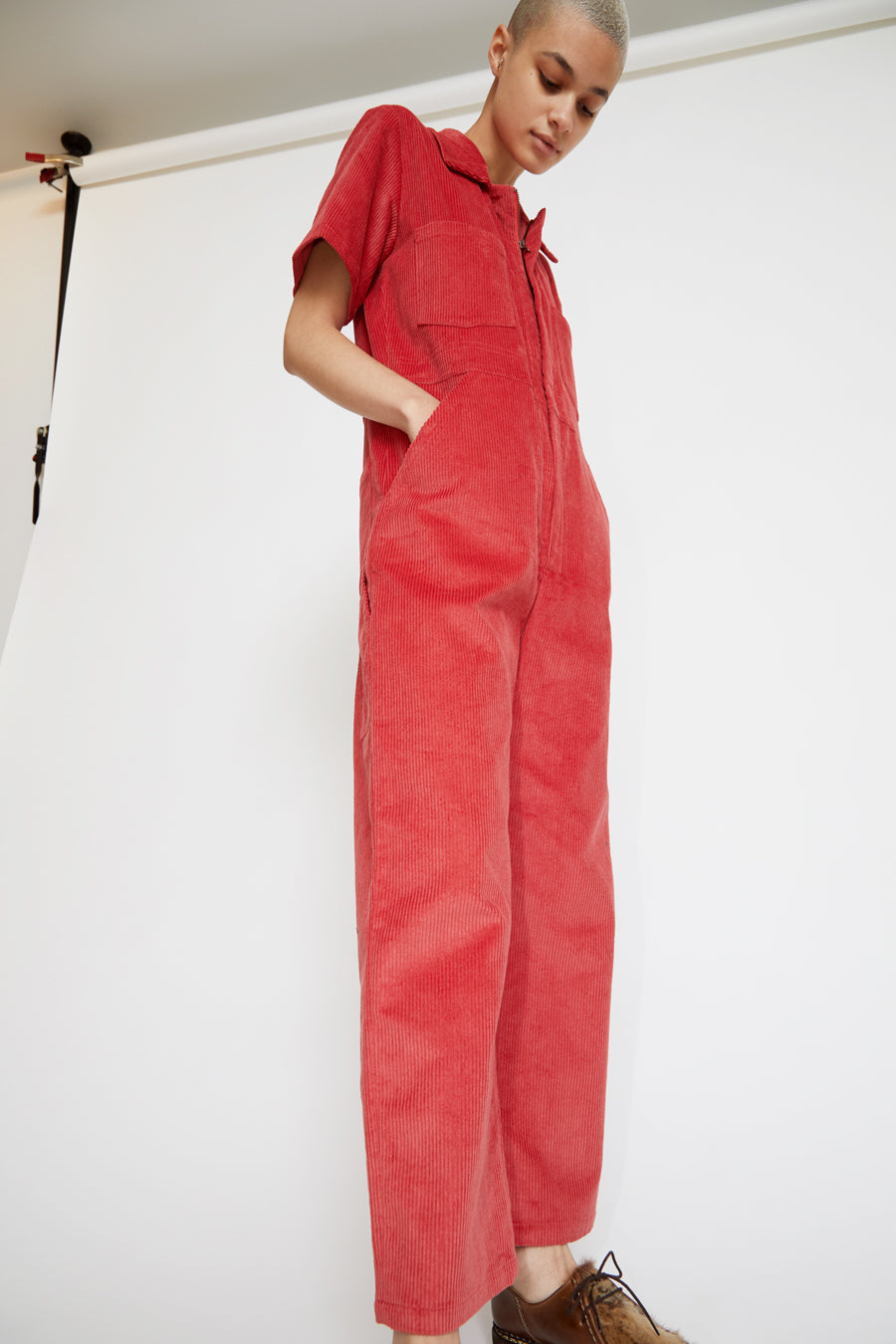 No.6 Freya Coverall in Rose Corduroy