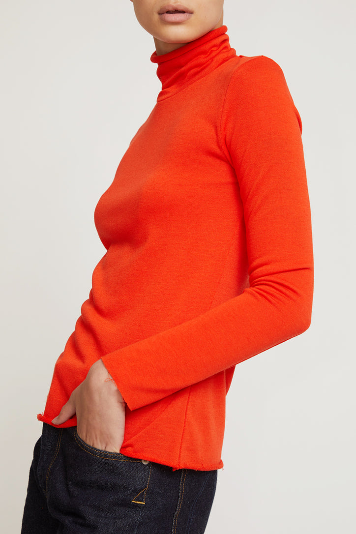 Image of No.6 Gloria Turtleneck in Red