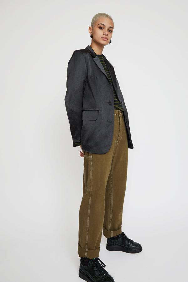 Sultan Wash Work Pant in Stone Olive