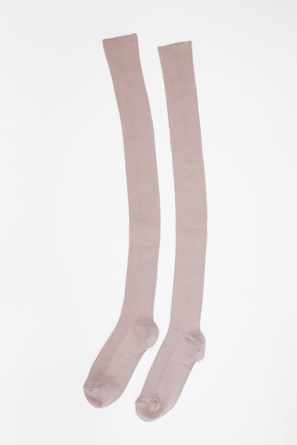 No.6 Over The Knee Sock in Blush
