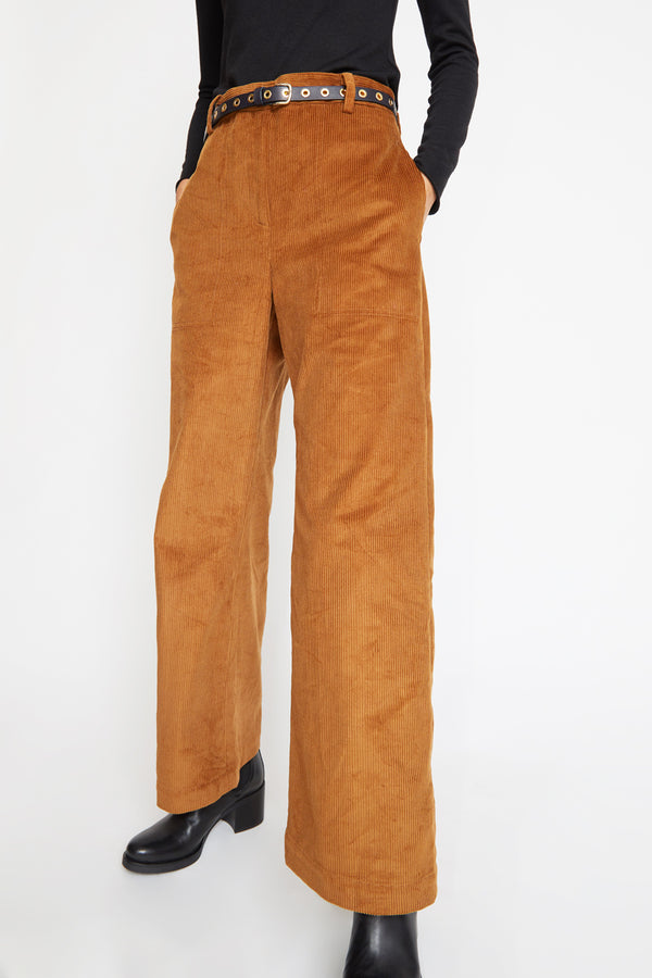 No.6 Owen Pant in Walnut Corduroy