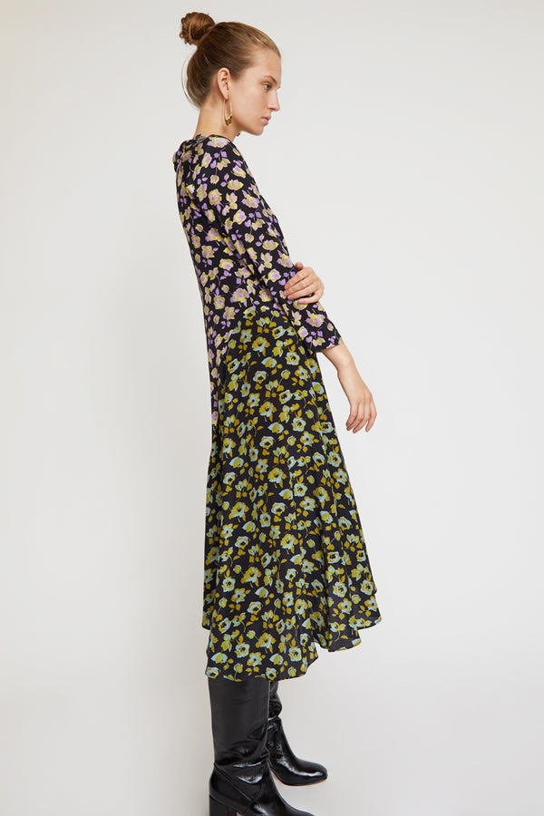 No.6 Selma Dress in Primrose Combo