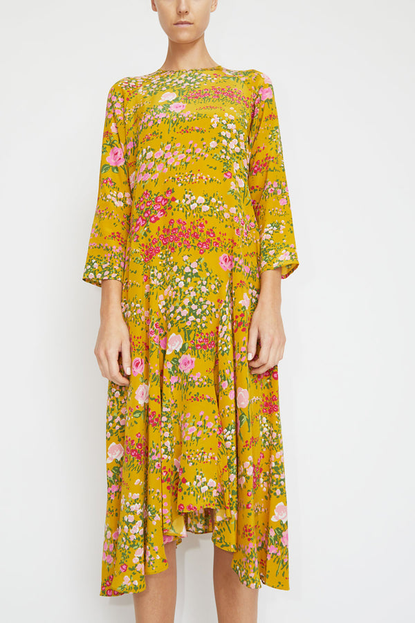 No.6 Selma Dress in Bronze English Garden