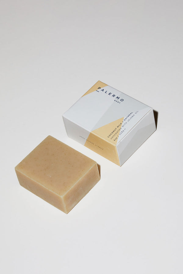 Palermo Body Coconut Milk & Oatmeal Soap