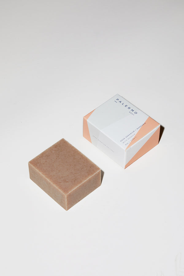 Palermo Body Rose Geranium & Mandarin Soap