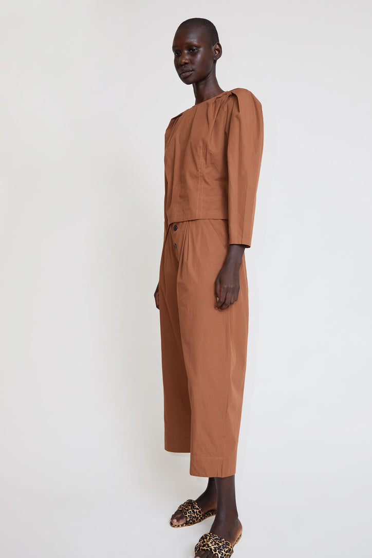 Image of Polder Aorie Pant in Toffee