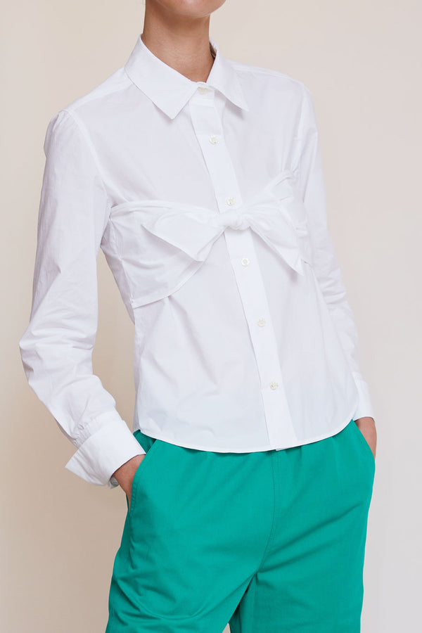 Rue Blanche Melancholia Top in White