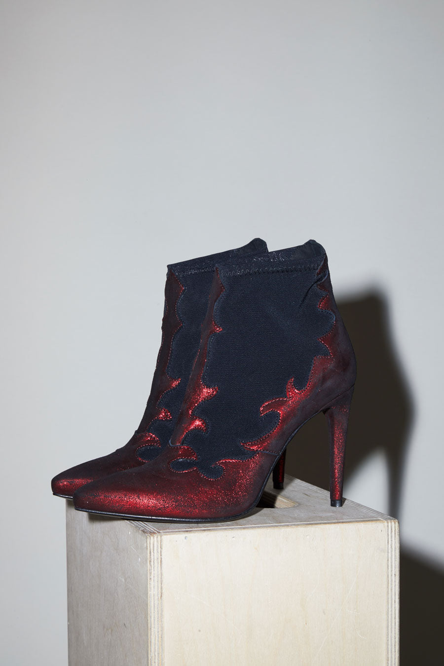 No.6 Flame Boot in Marlboro / Nero