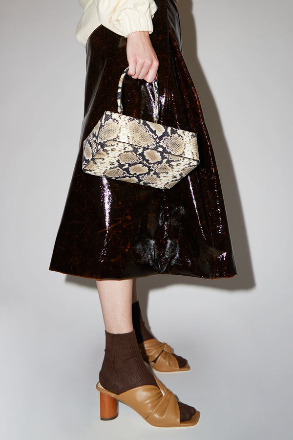 Rejina Pyo Olivia Bag in Leather Snake Print