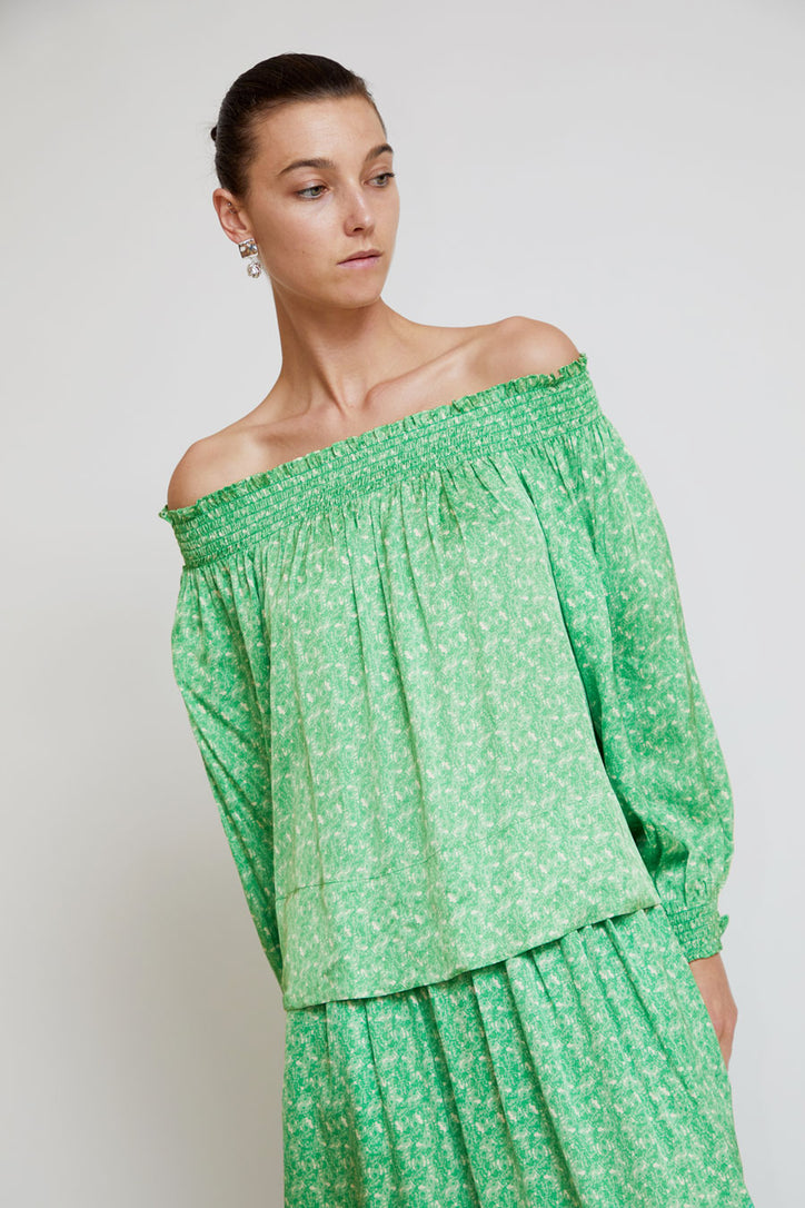 Image of Rodebjer Neva Top in Light Sage