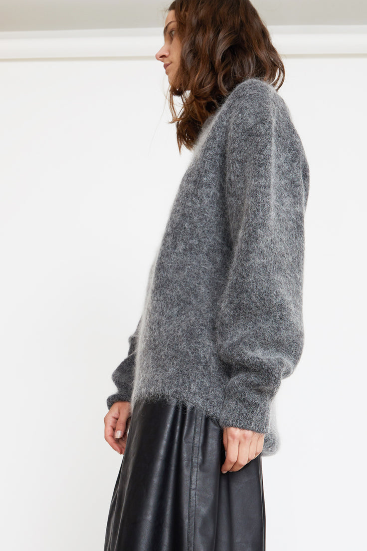 Image of Sayaka Davis Cocoon Sweater in Charcoal