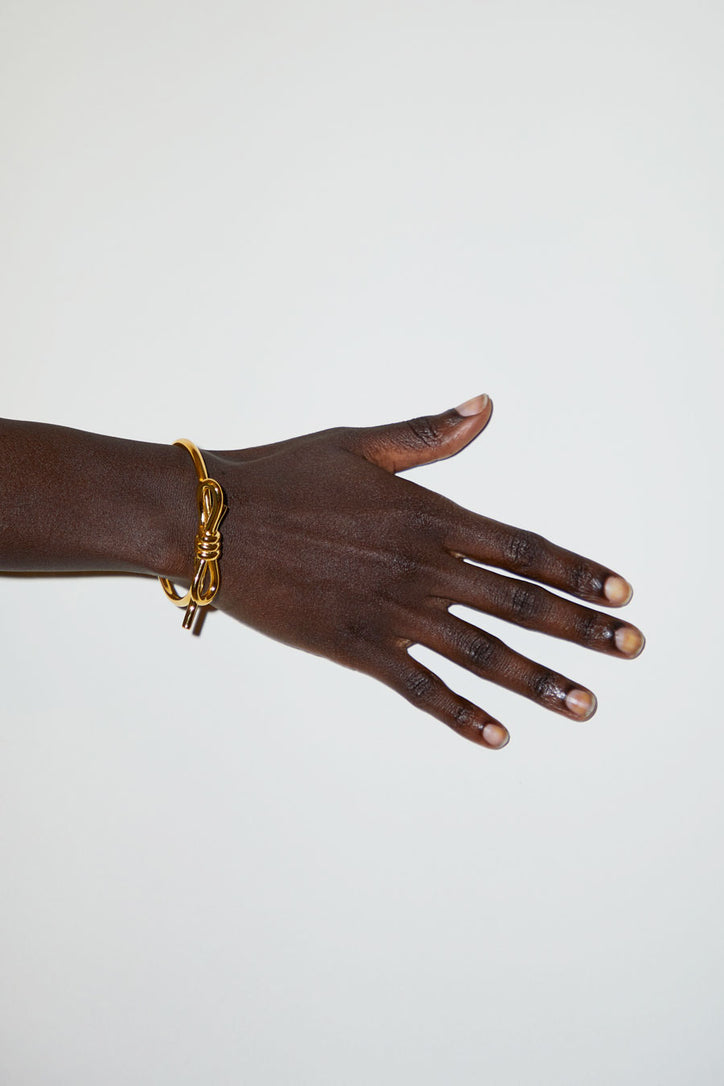 Image of Schield Loop Bracelet in Gold