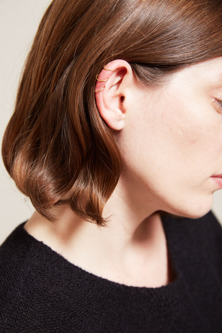 Sara Lasry Ear Cuff SINGLE in Sterling Silver